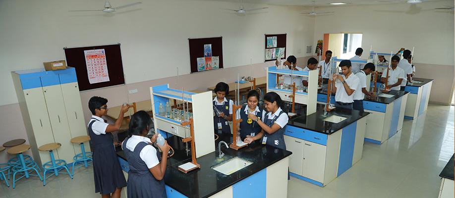 Chemistry Lab - Suguna PIP School | A CBSE Affiliated Sr